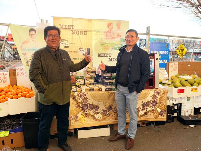 Các DN Việt Nam tại Melbourne đến ủng hộ và chúc Mừng Meet More Sản phẩm nhận được sự quan tâm của người dùng tại Australia.