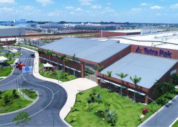 Nhà máy sản xuất vật liệu đóng gói tiên tiến trị giá 120 triệu euro của Tetra Pak tại tỉnh Bình Dương
